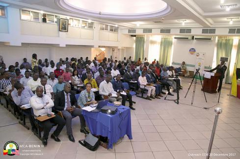 MCA-Bénin II présente ses opportunités d'affaire à la CCIB