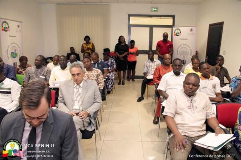 Conférence de presse de lancement du premier appel à projets de la Facilité d'énergie propre hors-réseau