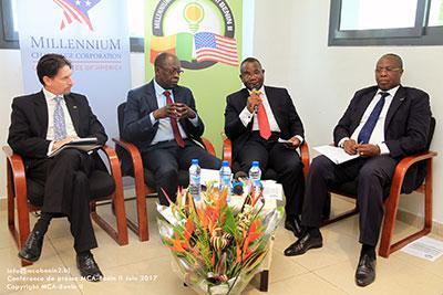 Conférence de presse : MCA-Bénin II se dévoile au public