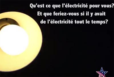Pour vous, qu'est-ce que l'électricité : le micro-trottoir de MCA-Bénin II